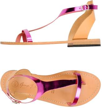 GEORGE J. LOVE Toe strap sandals - Item 11426688PC