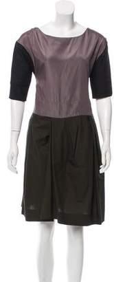 Marni Knee-Length Short Sleeve Dress
