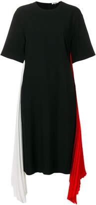 Krizia contrast sash dress