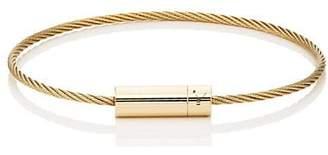 Le Gramme Men's Le 11 Cable Bracelet - Gold