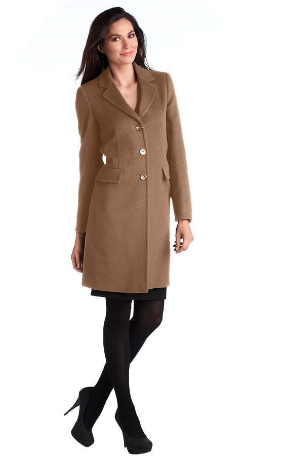 Marella Notch Collar Coat