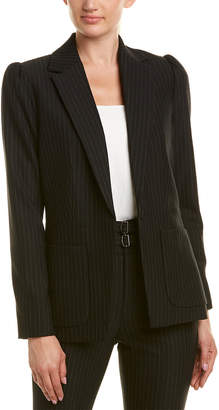 Rebecca Taylor Pinstripe Suit Jacket