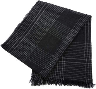 Co Begg & Pin Check Cashmere Scarf