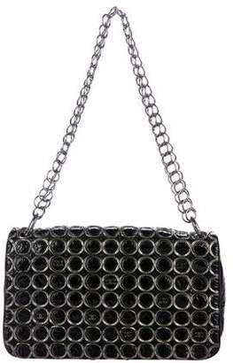 Chanel Patent Embellished Flap Bag