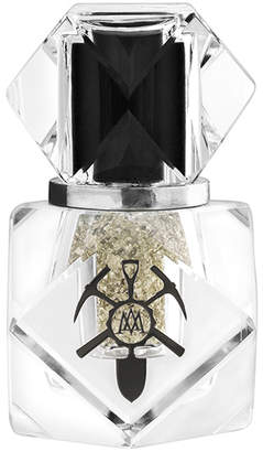 Mine Luxury Nail Lacquer White Gold Leaf Top Coat