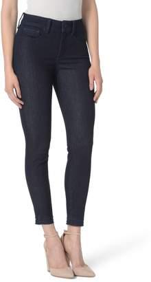 NYDJ Ami High Waist Release Hem Stretch Ankle Skinny Jeans