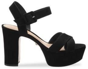 Schutz Tulia Strappy Platform Sandals