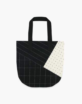 Madewell Anchal Organic Cotton Handstitched Canvas Tote