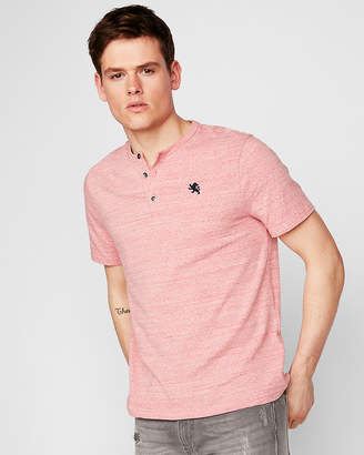 Express Eco-Friendly Stretch Small Lion Henley