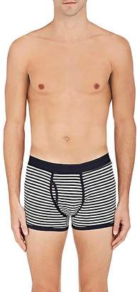Sunspel Men's Striped Cotton Boxer Briefs