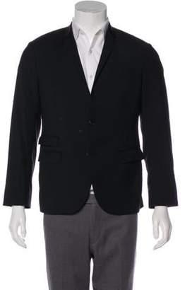 Neil Barrett Wool Notch-Lapel Blazer black Wool Notch-Lapel Blazer