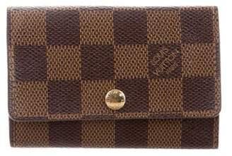 Louis Vuitton Damier Ebene 6 Key Holder