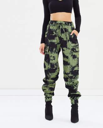 Missguided Blurred Camo Pants