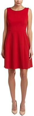 Nine West Women's Princess Seam Flare Dress