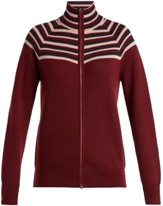 GABRIELA HEARST Delia striped cashmere-blend cardigan