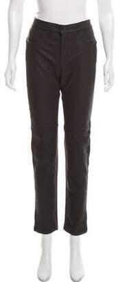 Gerard Darel Mid-Rise Straight Pants