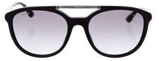 Giorgio Armani Round Gradient Sunglasses
