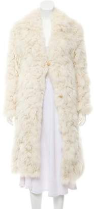 Knitted Fur Coat