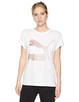 Puma Women's Kiss Arctica Logo Tee,XL