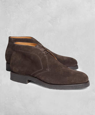 Brooks Brothers Golden Fleece Suede Chukka Boots