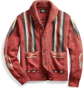 Ralph Lauren Cotton-Linen-Silk Cardigan