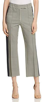Tory Burch Martine Straight Cropped Pants
