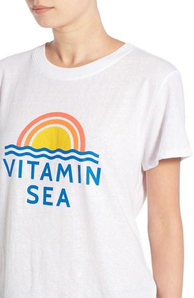 Women's Sub_Urban Riot 'Vitamin Sea' Graphic Tee 4