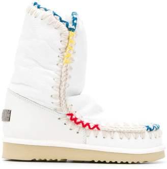 Mou shearling boots
