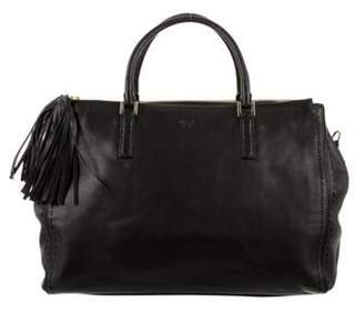 Anya Hindmarch Leather Tote Black Leather Tote