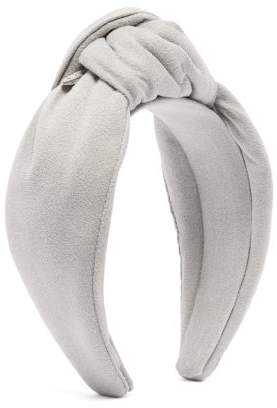 Lafayette House Of Loulou Knotted Headband - Womens - Grey