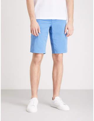 BOSS ORANGE Slim-fit cotton chino shorts