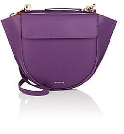 Hortensia Wandler Women's Mini Leather Shoulder Bag - Purple