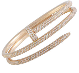 Cartier Heritage  18K Rose Gold 3.61 Ct. Tw. Diamond Bracelet