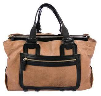 Pierre Hardy Colorblock Leather Tote