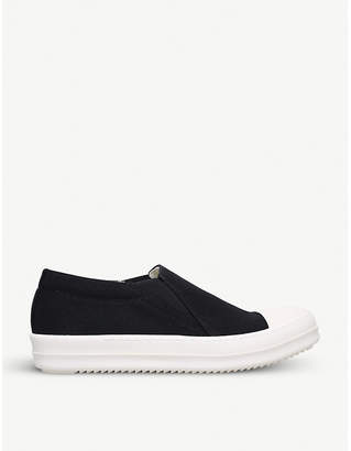 Drkshdw Boat cotton trainers