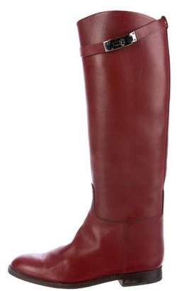 Hermes Jumping Knee-High Boots