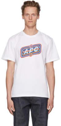 A.P.C. White Bastien T-Shirt