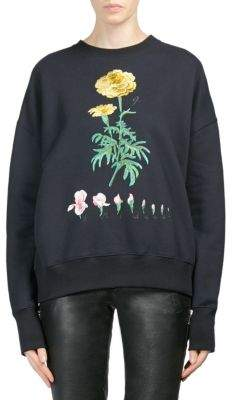 Alexander McQueen Botanical Embroidered Sweater