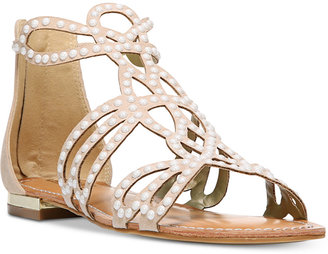 Carlos by Carlos Santana Veronica Flat Sandals Women's Shoes $69 thestylecure.com