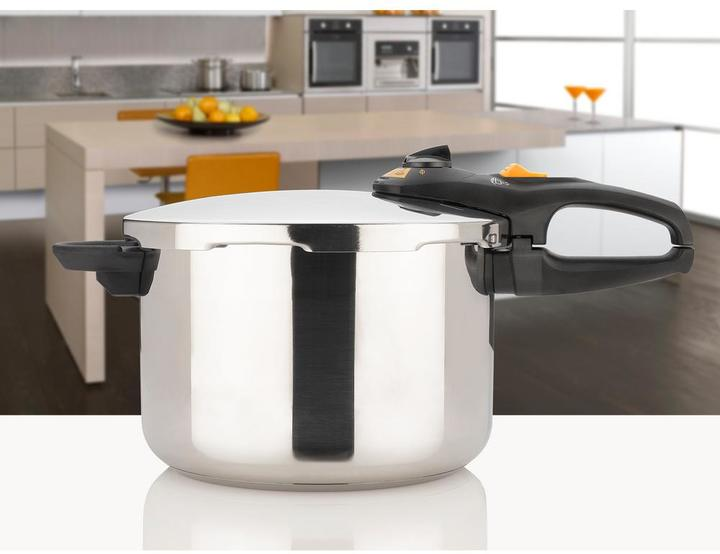 Fagor Duo 6 Qt. Stainless Steel Stovetop Pressure Cookers