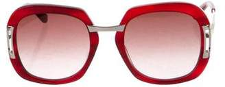 Etro Resin Oversize Sunglasses
