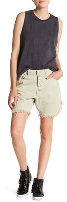 One Teaspoon Bone Frankies Shorts