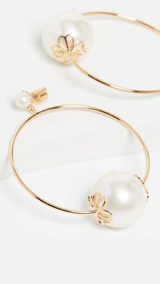 Kate Spade Pearlette Hoop Earrings