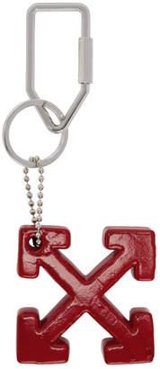 Off-White Red Arrows Keyring