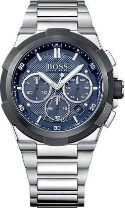 HUGO BOSS 1513360 supernova stainless steel watch $395 thestylecure.com