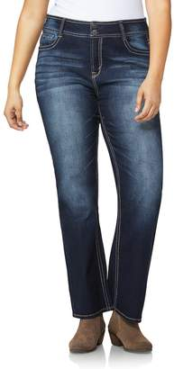 WallFlower Junior's Size Instastretch Curvy Bootcut Jeans