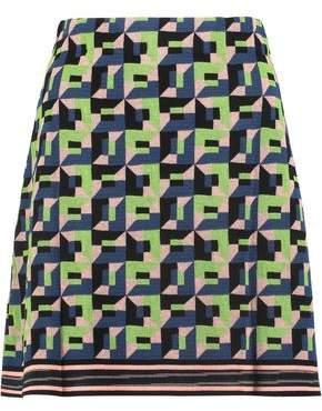 M Missoni Jacquard-Knit Mini Skirt
