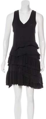 Marc by Marc Jacobs Ruffled Sleeveless Mini Dress