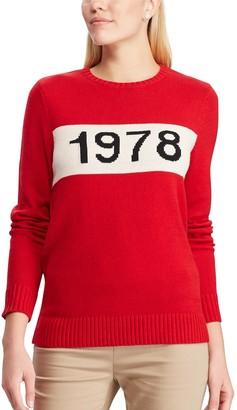 "Chaps Women's 1978"" Crewneck Sweater"