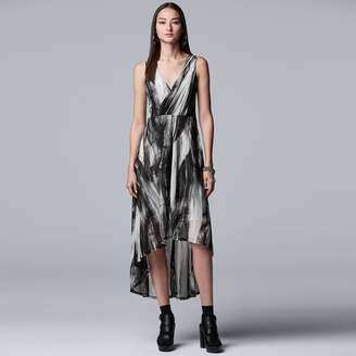 Vera Wang Women's Simply Vera Double V Dress